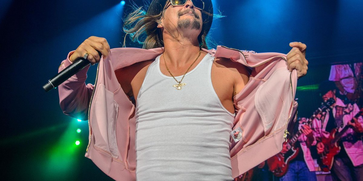Kid Rock defends himself about racism charges