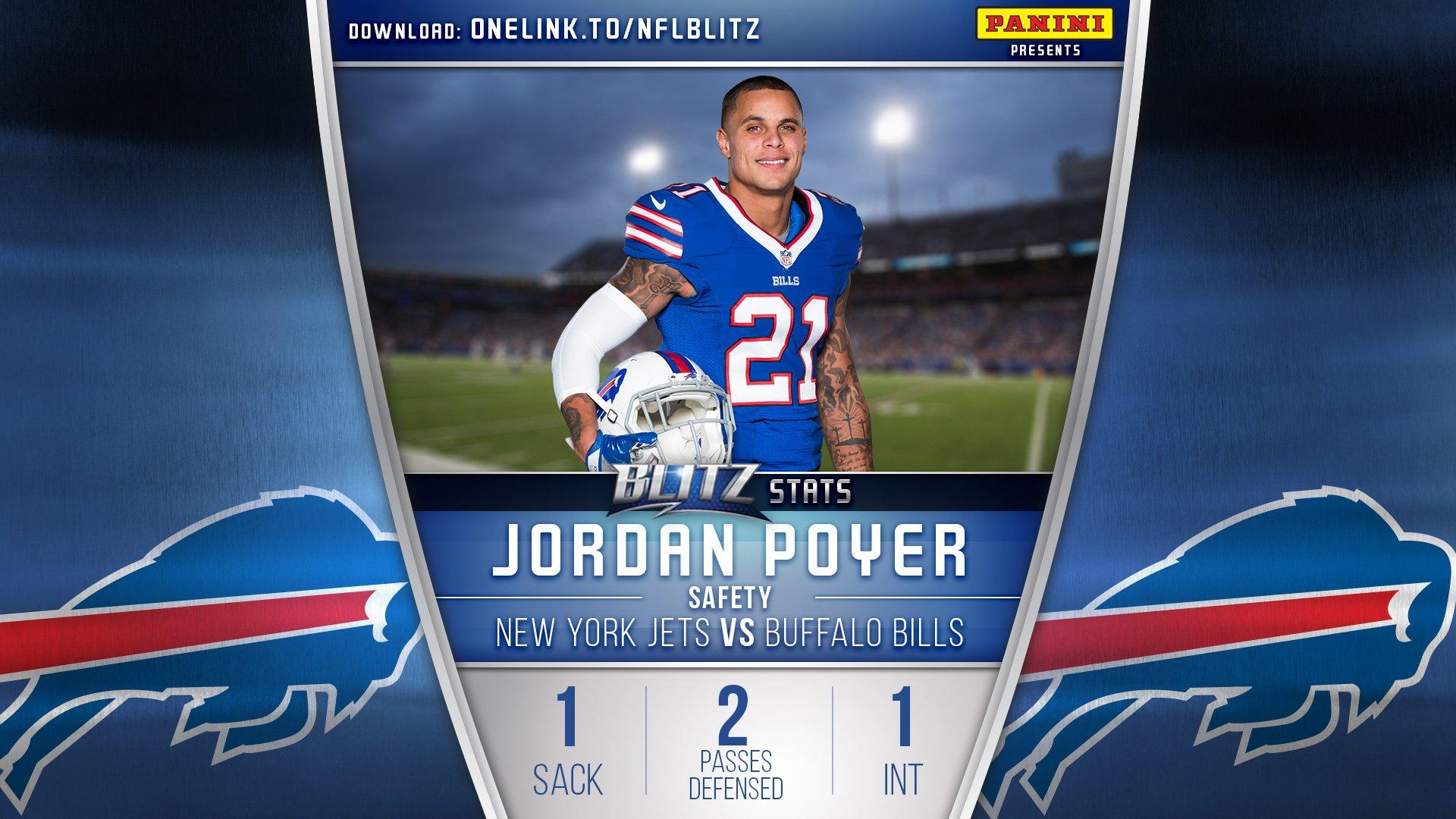 We'd say @J_poyer21's first game as a Bill went well. �� #GoBills https://t.co/UxgHAxm9m6