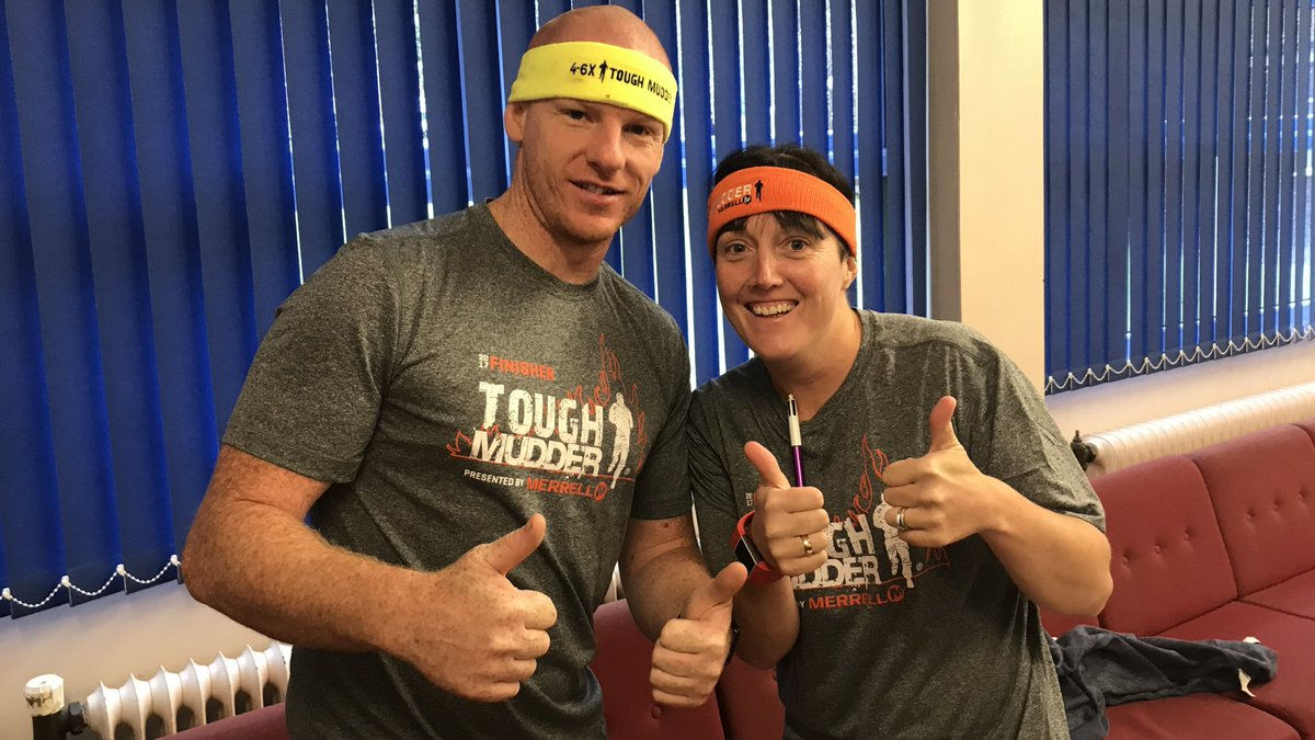 test Twitter Media - A big well done to Mr Brookes and Mrs Banks who completed the 12 mile tough mudder course this weekend. #toughmuddernorthwest https://t.co/AZg5PcbcMo