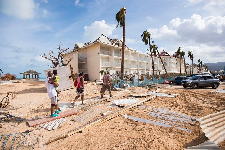 Hurricane Irma hits the Caribbean, and other photos from around the world: