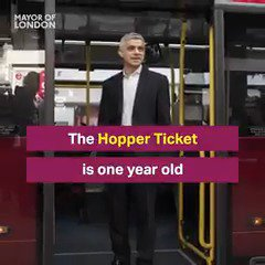 One year ago I launched the #Hopper fare. Watch & find out what's made it a huge success → https://t.co/cuvBgx7jW0