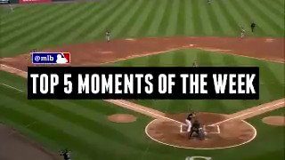 Baseball just gets crazier and crazier.  We present our Top 5 Moments of the Week. https://t.co/bOL5fdXoVN