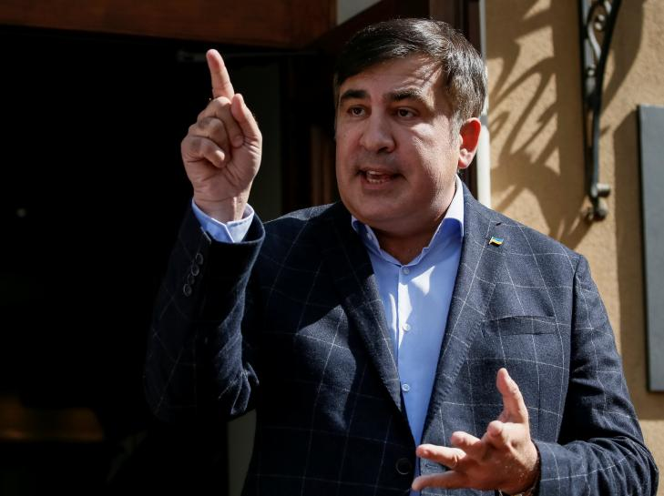 Saakashvili plans to unite Ukraine opposition against president
