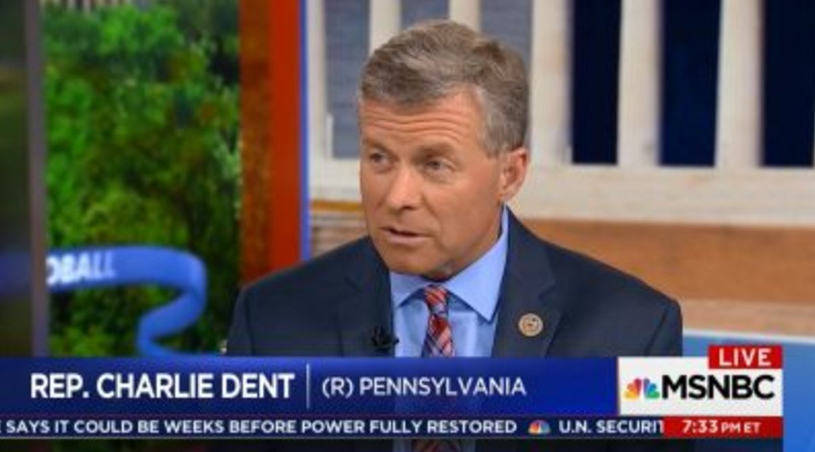 Retiring GOP Rep. Charlie Dent: New Litmus Test For Republicans Is 'Trump Loyalty' https://t.co/uxN8zEzP5n (VIDEO) https://t.co/UfANeqjynF