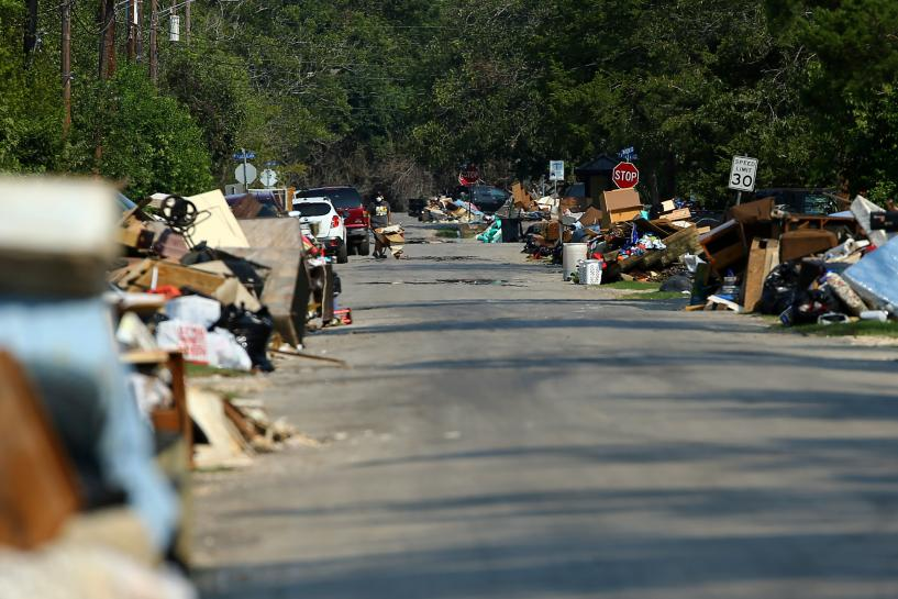 Hurricane trash pile, removal costs could reach staggering levels