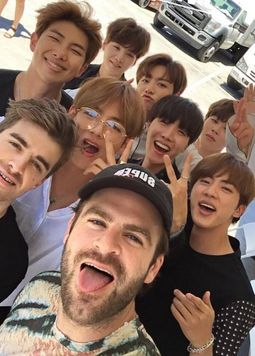 ⚡️ @TheChainsmokers and @BTS_twt teamed up for a new song!!