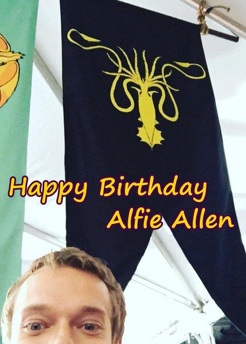 Happy 31st Birthday Alfie Allen!!