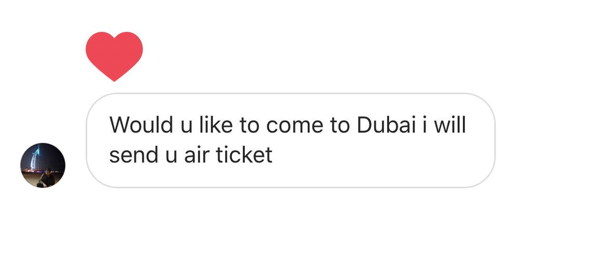 I get this SO often. Always to Dubai too 😃 like ya pls buy my one way ticket to my kid napping event