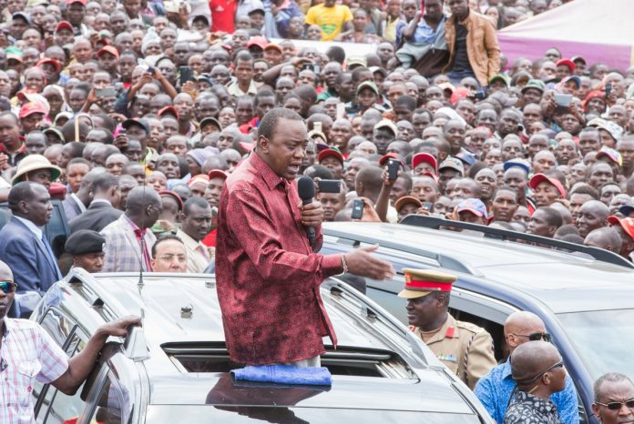 President Kenyatta embarks on campaign trail