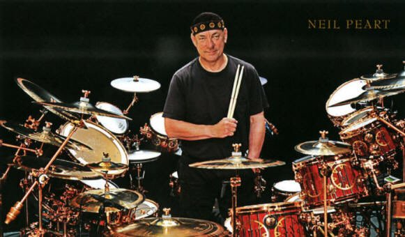 Happy Birthday to Neil Peart, drummer for Rush, born Sep 12th 1952