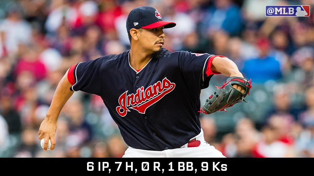 Cookie didn't crumble, and now the @Indians are staring down 19. https://t.co/aKdlRAzCD4 https://t.co/r77wrfOaSF