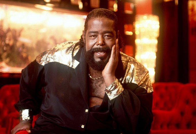 Happy Birthday to Barry White, who would have turned 73 today!