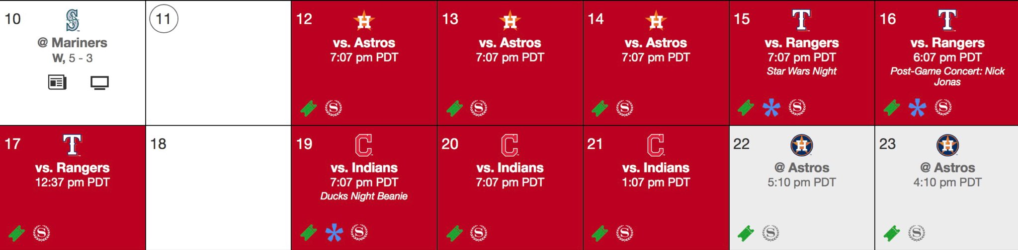 It's crunch time #Angels fans! #EveryGameMatters this homestand: https://t.co/Vlrun7WY6l https://t.co/IEfNwIDGLh