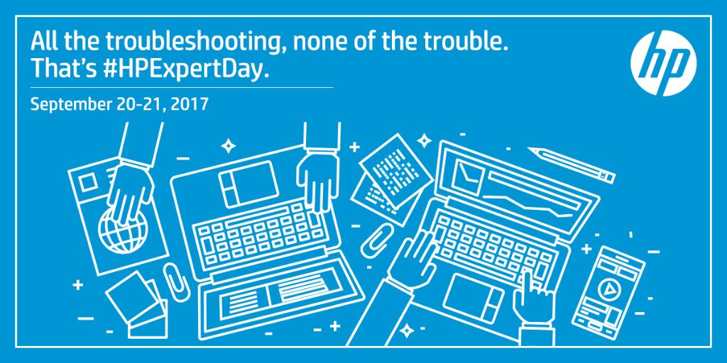 Have questions about your HP products Join us on HPExpertDay on September 20 amp ask away https t