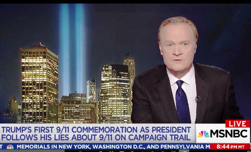 Lawrence O'Donnell Tears Into Trump For Trying to 'Steal the Grief of 9/11 Families' https://t.co/nSMun1RcHF (VIDEO) https://t.co/X2sWlpWJZA