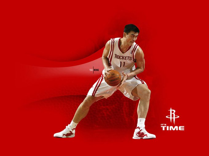 Happy Birthday to Yao Ming who turns 37 today!