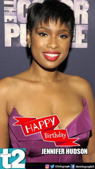 Happy birthday, Jennifer Hudson! Your talent totally proves that