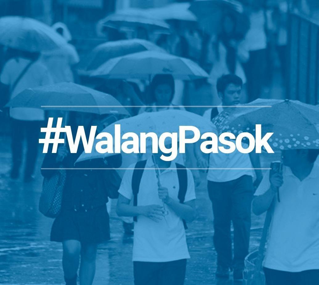 RT @inquirerdotnet: #WalangPasok: Class suspension for Wednesday, September 13 #MaringPH https://t.co/6xrEV0Qfe7 https://t.co/Rxq5vHaCVf