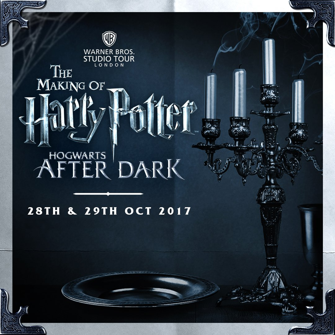 Something wicked this way comes. Tickets to #HogwartsAfterDark are now available! https://t.co/THyODOK0cn https://t.co/h93cJCfsaj
