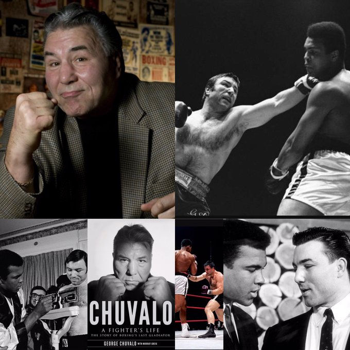 Happy 80th Birthday to one of the most amazing and inspirational people I have ever met, George Chuvalo!