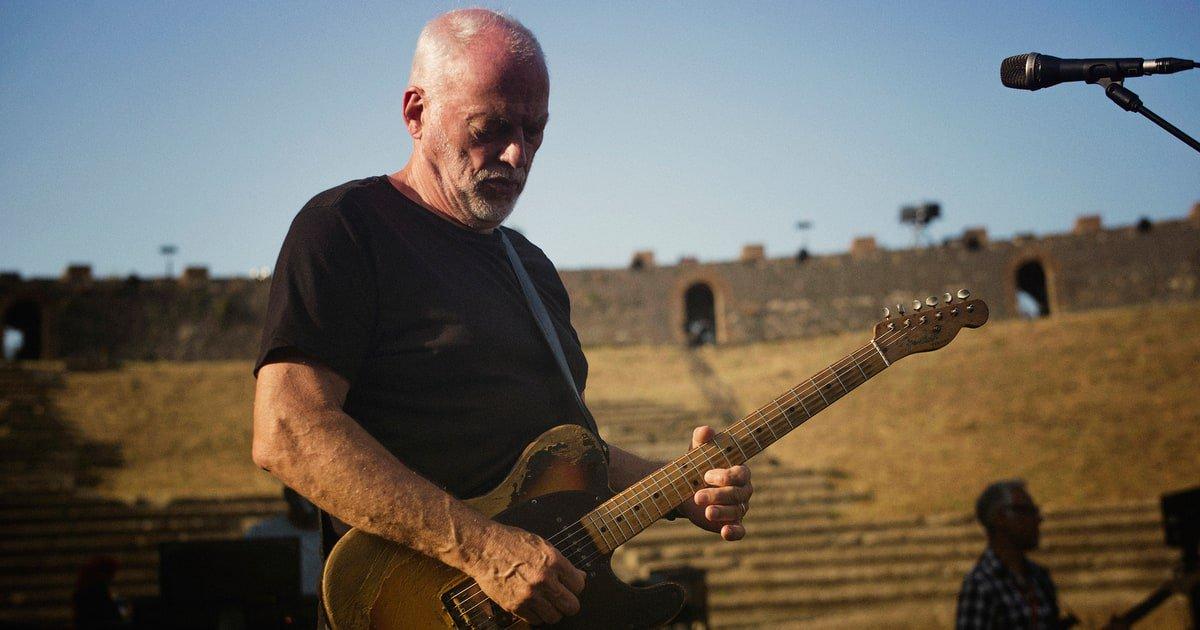 Inside David Gilmour's stunning new Pompeii concert film https://t.co/oz6pFUphh7 https://t.co/exgVKJNfbE