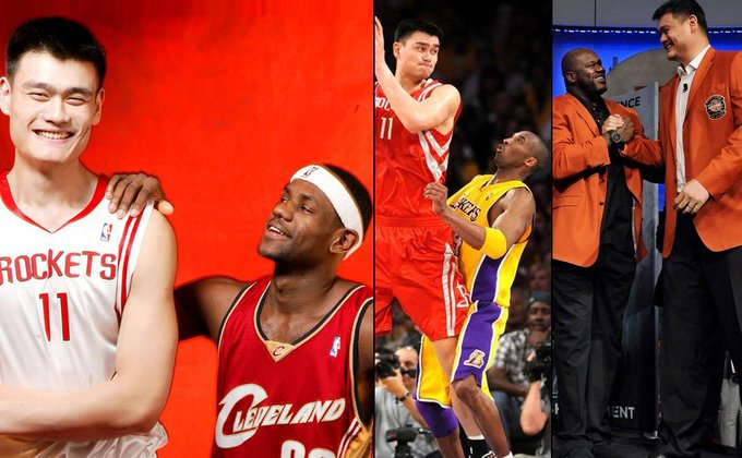 Happy 37th birthday to Yao Ming!  Watch his funny HOF speech + Top 10 Vidoes: