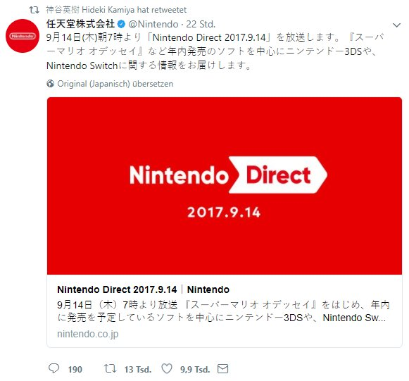 Hideki Kamiya has retweeted the Direct   It's  All  Calculated https://t.co/ojOlBVXdJn