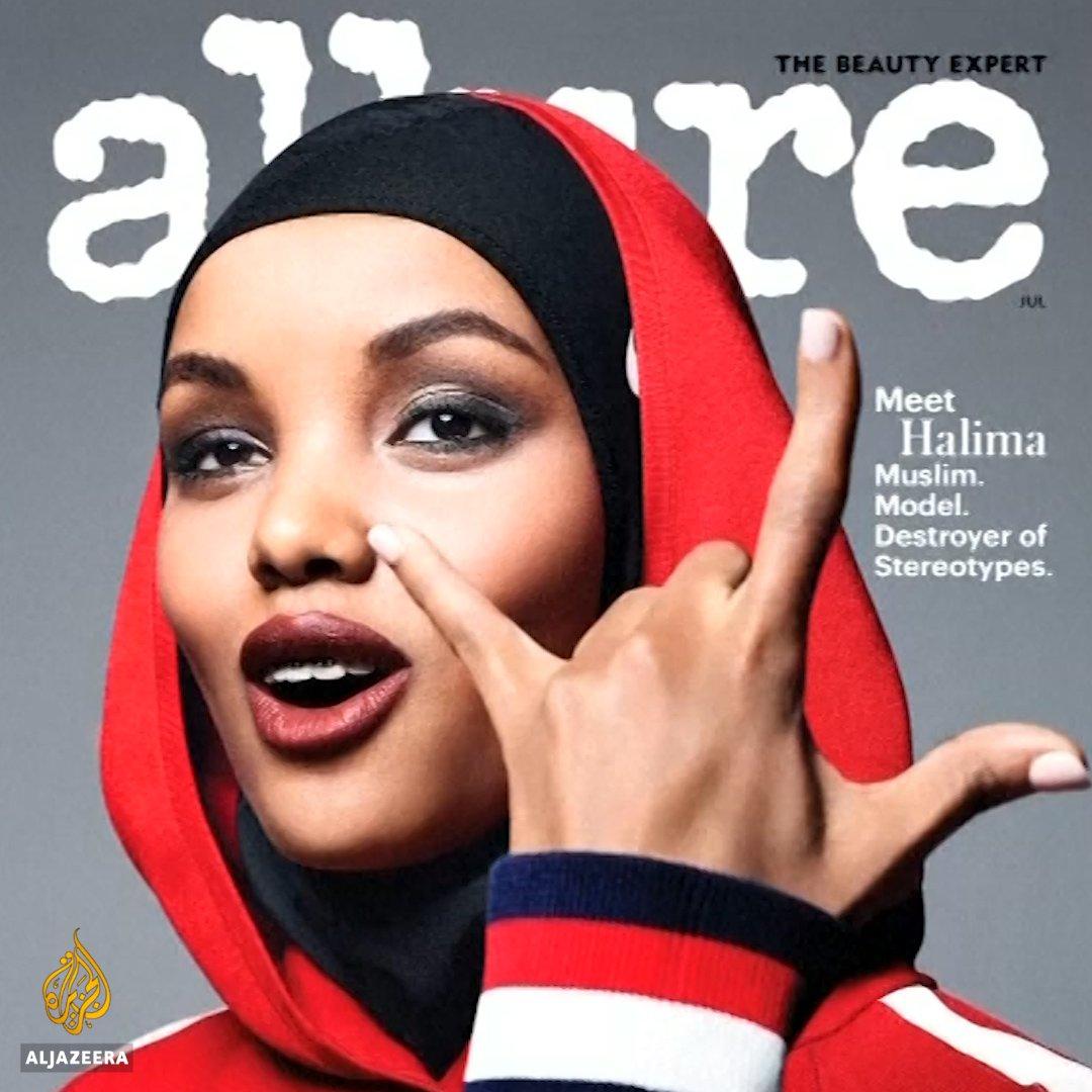 Meet the world's first hijabi supermodel. https://t.co/f5VEGDujC1