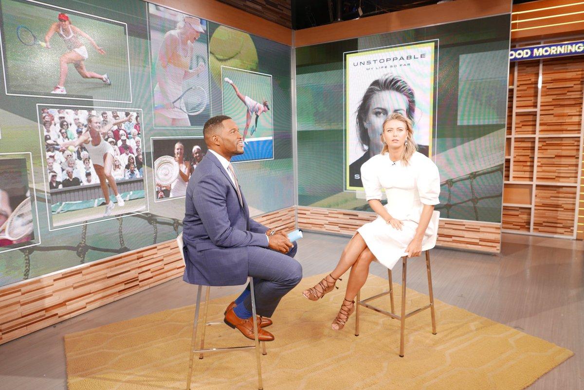 On set of @GMA with @michaelstrahan #UNSTOPPABLE https://t.co/AlLFptkCUA