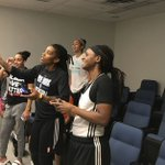 AP Video: Players test out first WNBA video game