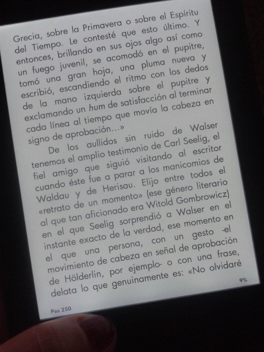 Venís leyendo a Vila-Matas y di