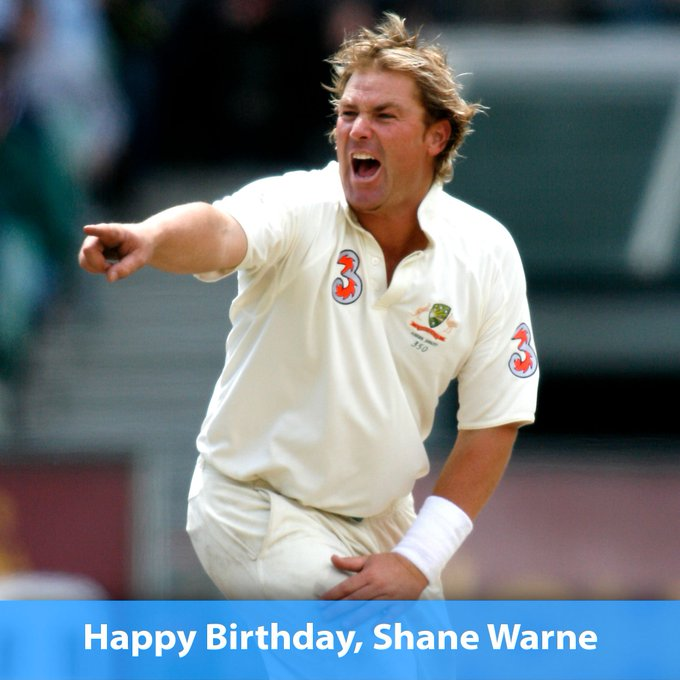 ONCE IN A GENERATION BOWLER: Happy 48th birthday to Shane Warne!