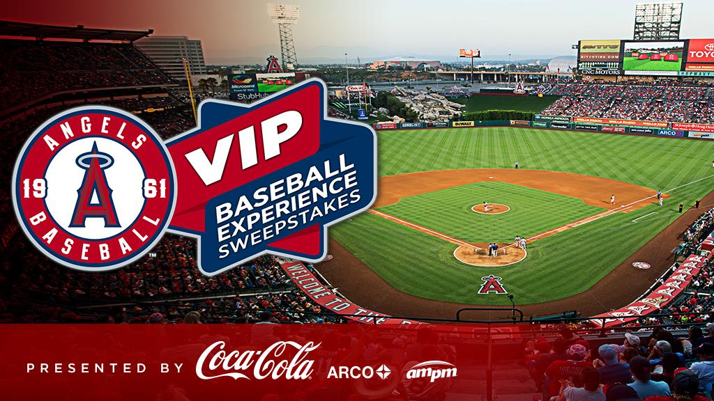 Want to win an amazing @Angels VIP experience? @CocaCola is giving you the chance! https://t.co/9TdeUWQhrt https://t.co/ohO7GrgMUR