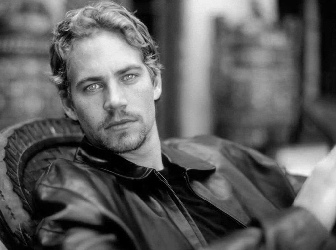 In memory of paul walker.happy 44th birthday to him