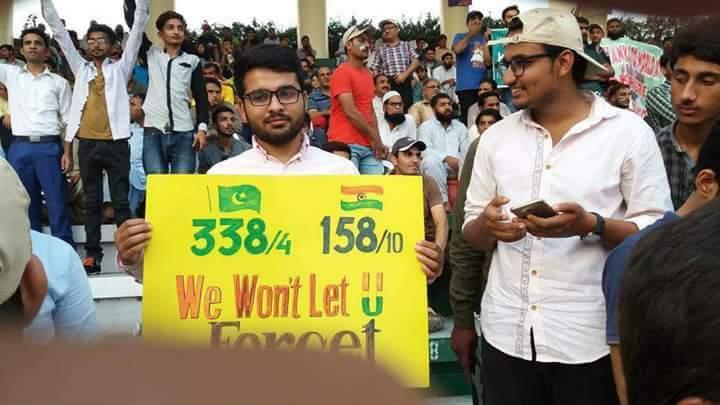 RT @Adi_uol: We won't let you forget 😎😉 burnol moment for haters 😂🖕 #PAKvsWorldXI #PAKvWXI #GaddafiStadium https://t.co/CF2fbNFI4s