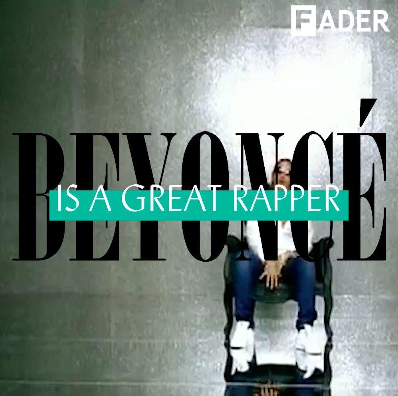 BEYONCÉ �� IS �� THE �� BEST �� RAPPER �� https://t.co/sGXHKjXOa5