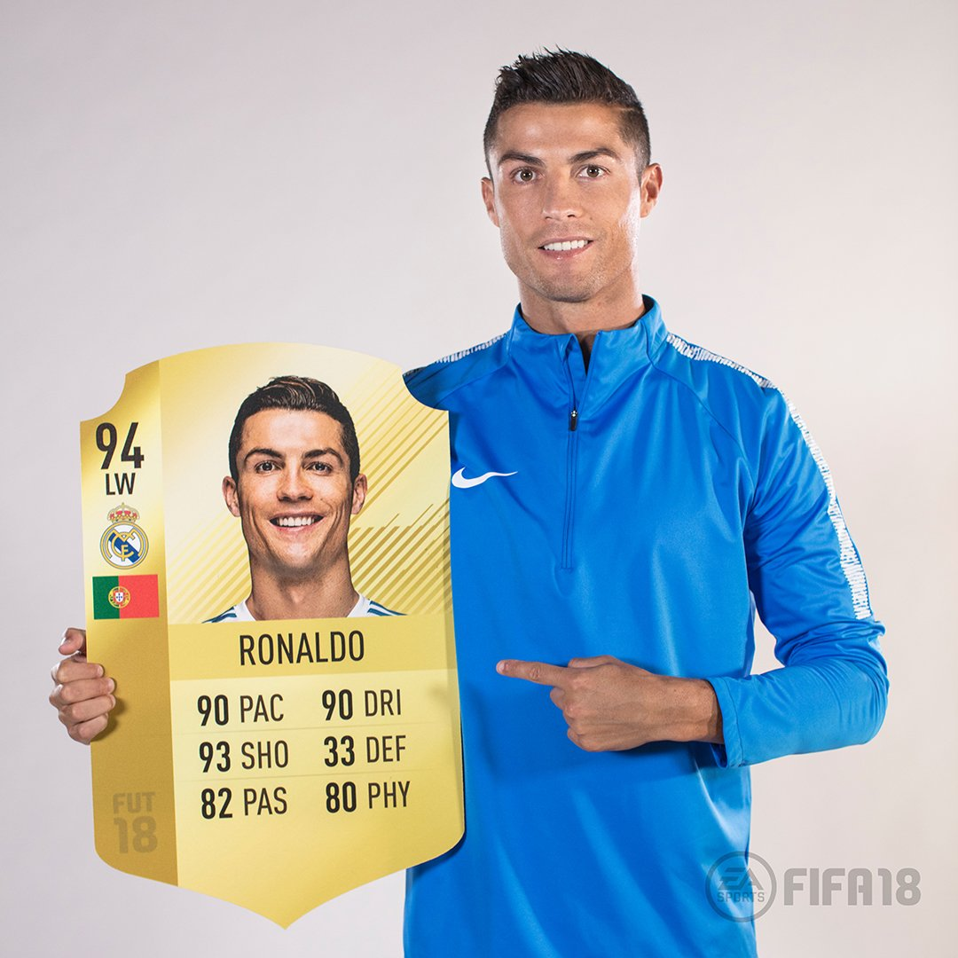 Number �� in @easportsfifa Now how many goals can you score with me in the #FIFA18 demo? https://t.co/Gfmh3naeZm #ad https://t.co/cHI2D8gkBX