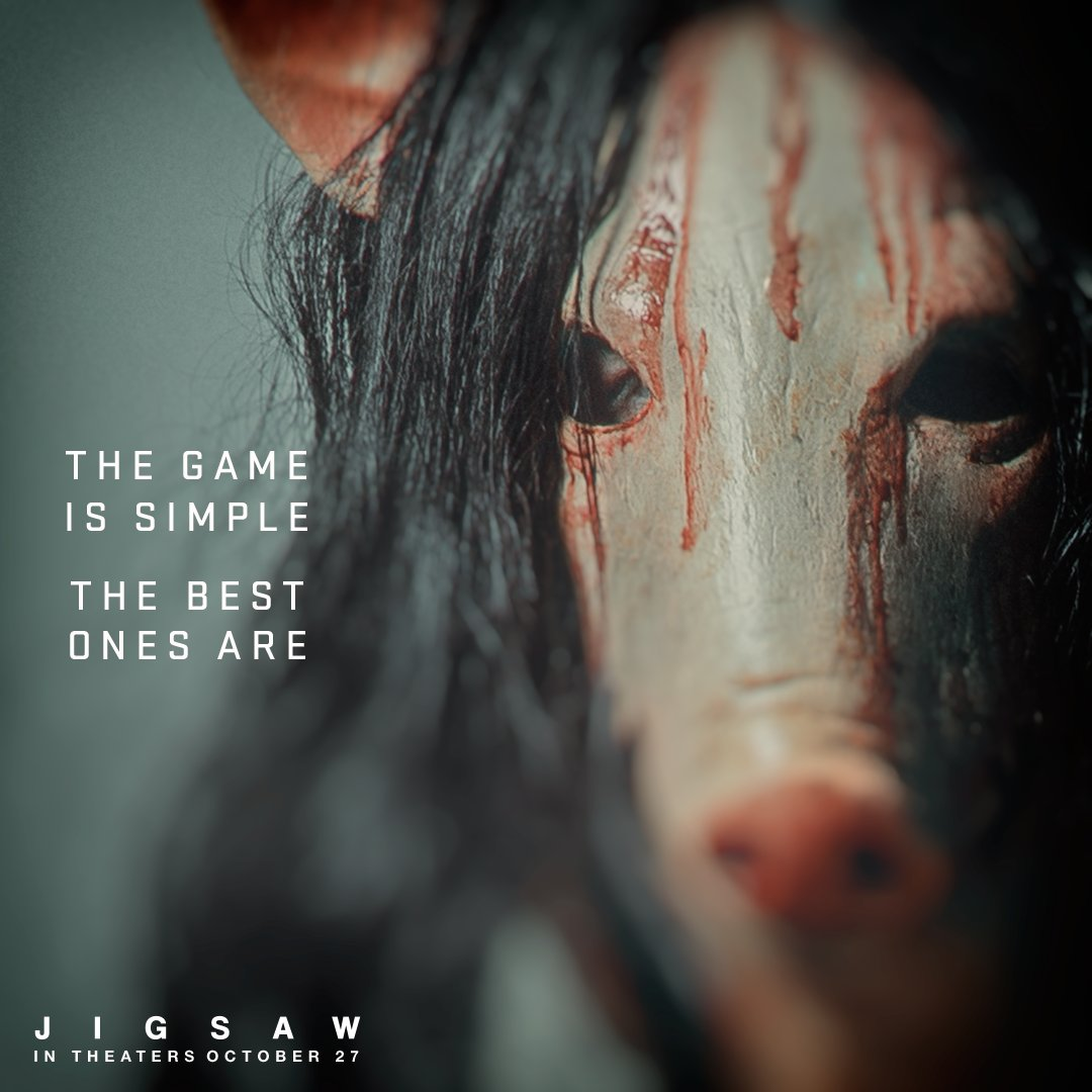 "test Twitter Media - RT @SawMovie ""It's time to play… #Jigsaw"" https://t.co/xjXDj7yVHJ"