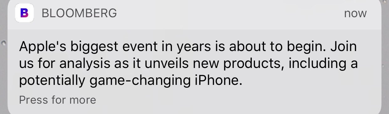 I am absolutely certain my game will not be changed by a new iPhone. Am so bored with this nonsense https://t.co/aHuBAeDNW5