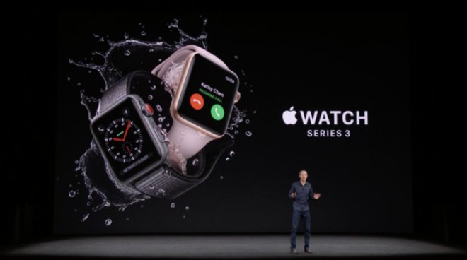 The Apple Watch Series 3 will have cellular built in to the device: https://t.co/QoUxe6Hyhz #AppleEvent https://t.co/VJDwo5X9QA