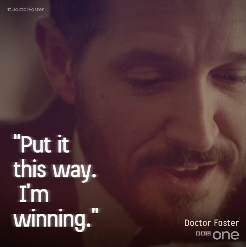 Game. Set. Match. #DoctorFoster https://t.co/Sk3FouvvIf