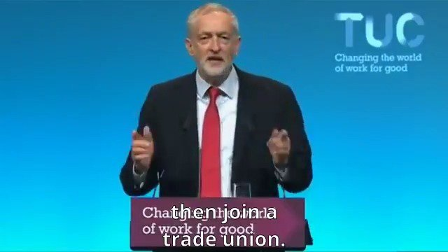 My message to young people: Join a trade union.   https://t.co/GVKwxjMnyU  #TUC17 https://t.co/heh0xz72kU