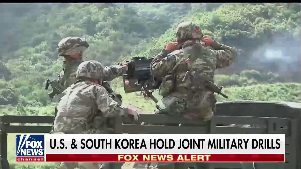 U.S. and South Korea hold join military drills