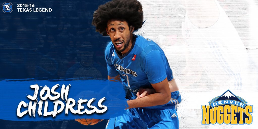 15-16 Legend Alum Josh Childress ✍️ with the @nuggets.  More >> https://t.co/eUEtH0HexC https://t.co/Bp5EmTzvfe