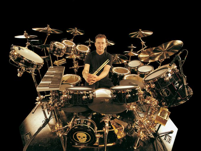 Happy Birthday Neil Peart (RUSH). I\d love to get some more drums, but...err...I think he\s good.