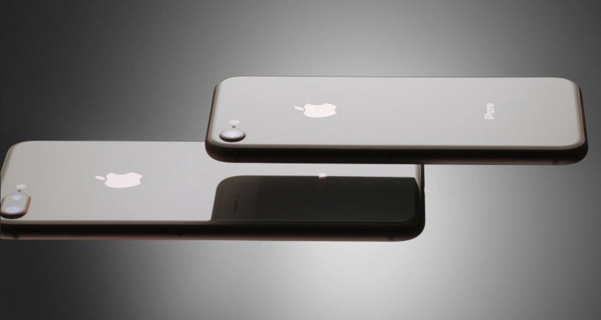 RT @Dnk4r: Glass back for iPhone8 and 8Plus #AppleEvent https://t.co/2RUsWRcxJL