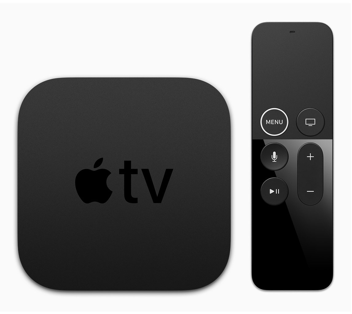 Here's a look at the new Apple TV 4K and its redesigned Siri Remote. https://t.co/Clh12efNBE