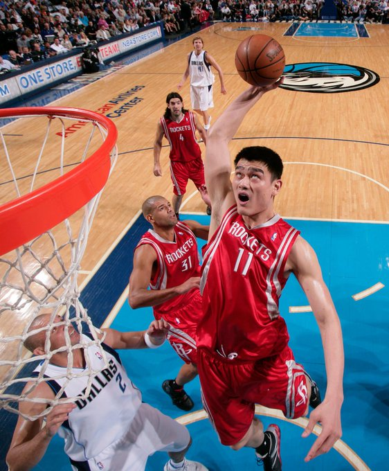 Join us in wishing Yao Ming a Happy Birthday 37th birthday.