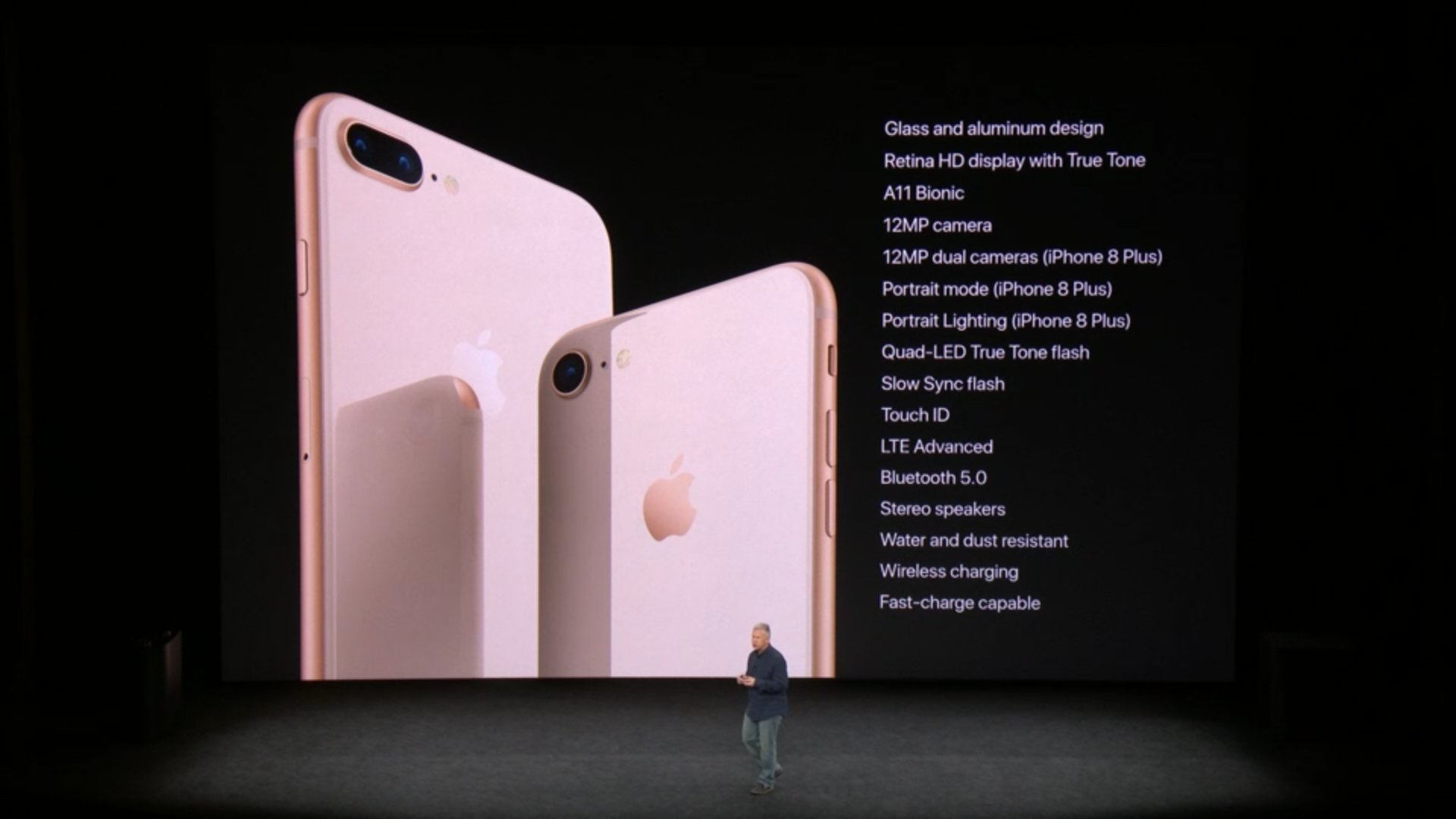 A rundown of the new features in the iPhone 8 and 8 Plus. #AppleEvent https://t.co/xgbr85elCX