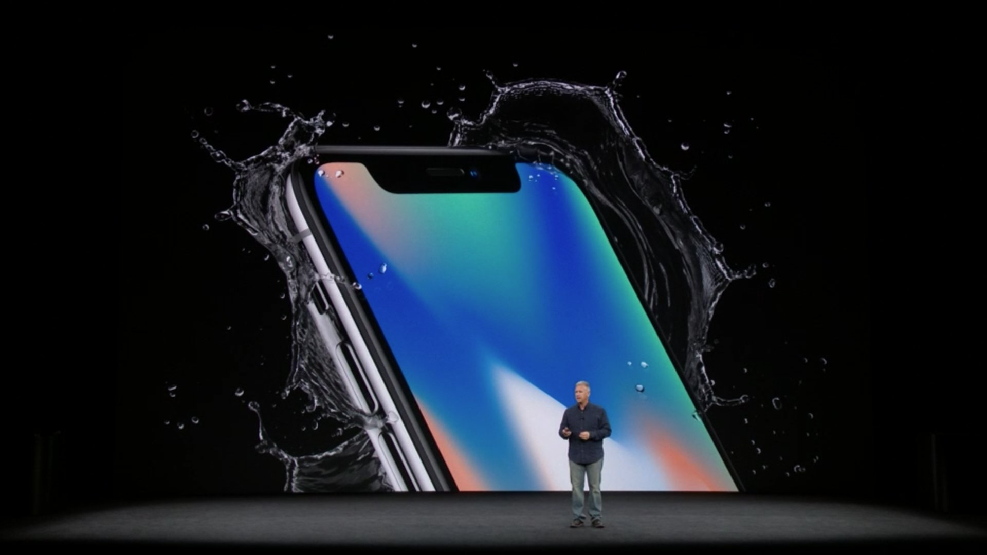 iPhone X will be water RESISTANT. #AppleEvent https://t.co/Z0ePXqg7k8